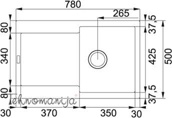 Franke sudopera MRG 611 114.0277.310