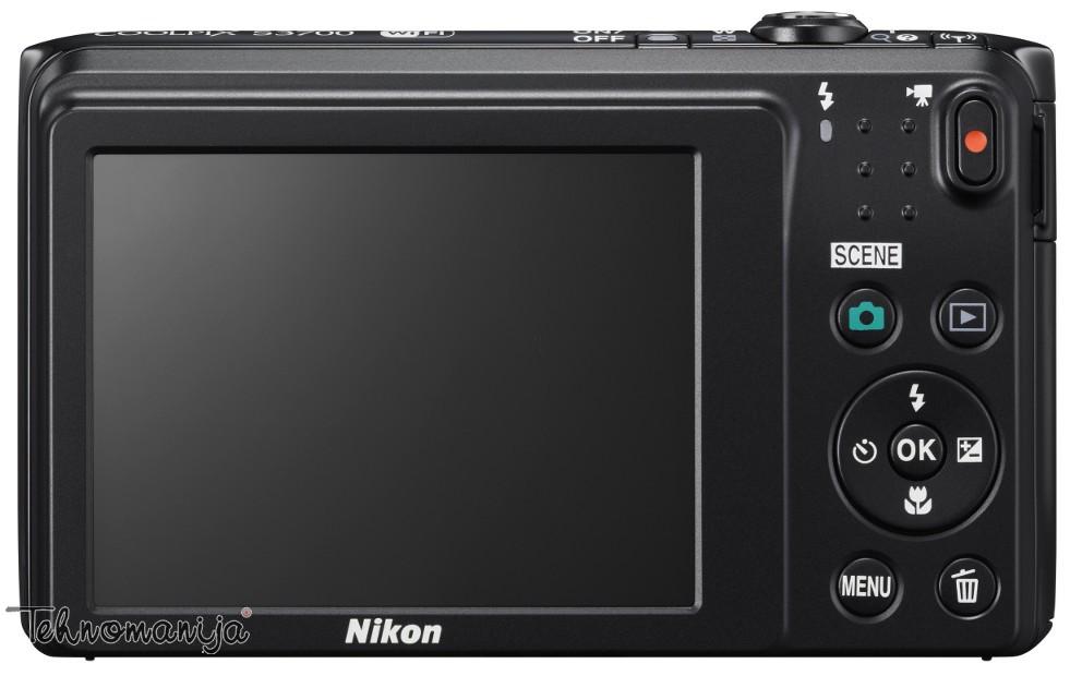 Nikon fotoaparat Coolpix S3700 CRNI SET