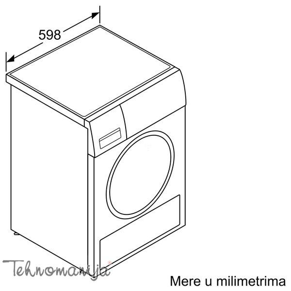 BOSCH Mašina za sušenje veša WTH 85200BY, Toplotna pumpa