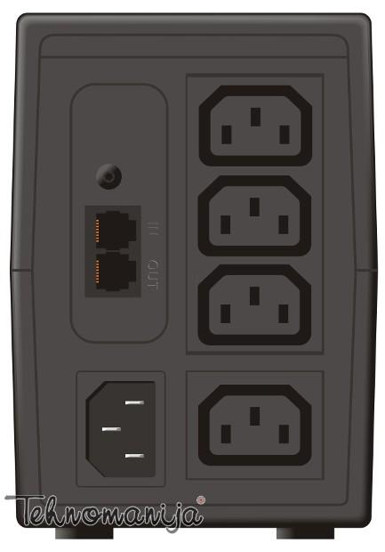 Mustek UPS POWERMUST 636LCD