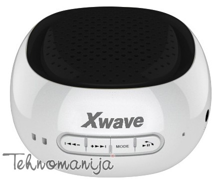X WAVE Bluetooth zvučnik B COOL WHITE BLACK