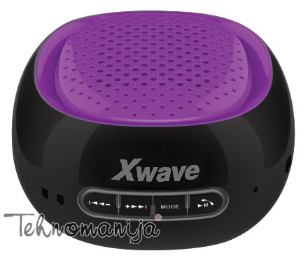 X WAVE Bluetooth zvučnik B COOL BLACK PURPLE