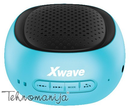 X WAVE Bluetooth zvučnik B COOL BLUE BLACK