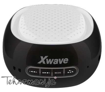 X WAVE Bluetooth zvučnik B COOL BLACK WHITE