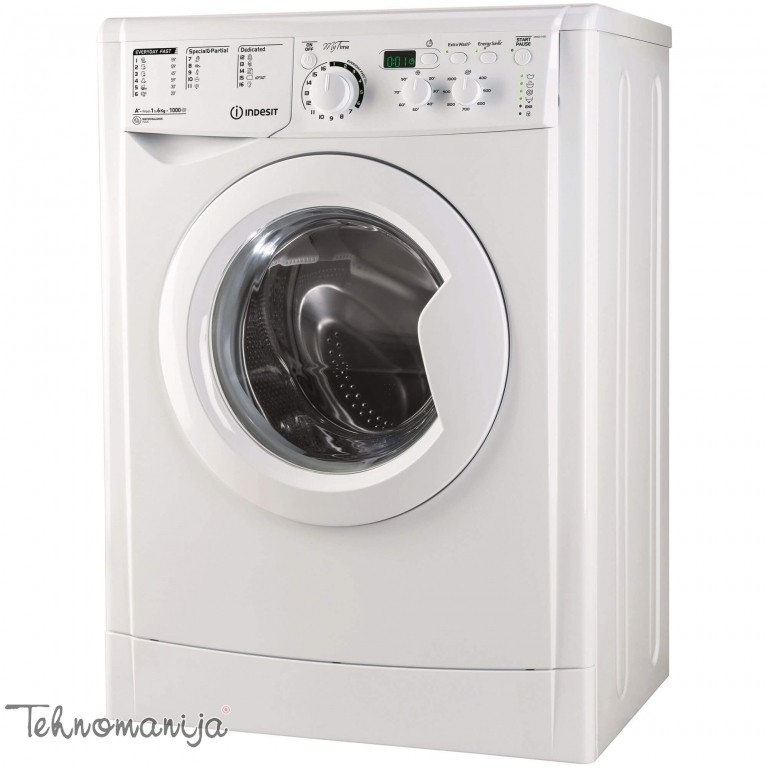INDESIT Mašina za pranje veša EWSD 61051 W EU