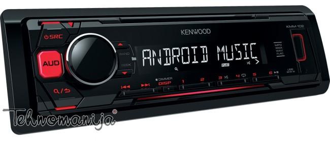 Kenwood autoradio KMM-102RY
