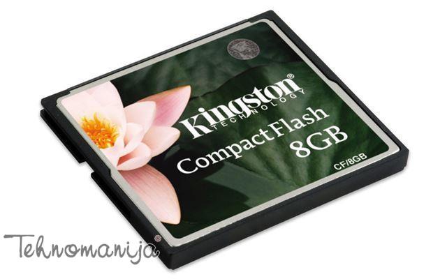 KINGSTON Memorijska kartica CF 8GB