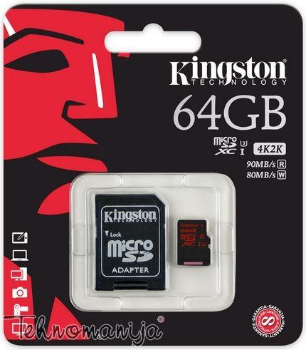Kingston memory stick SDCA3 64GB
