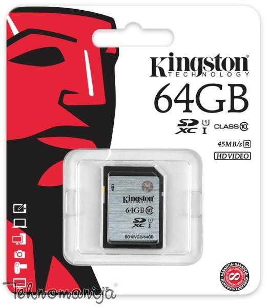 Kingston memory stick SD10VG2 64GB