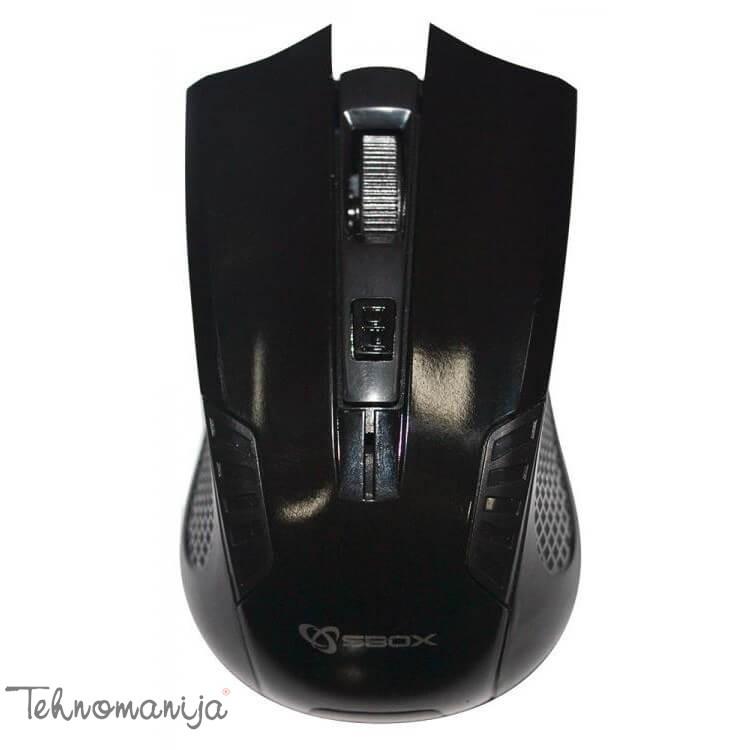 S BOX Bežični miš M 9012 BLACK
