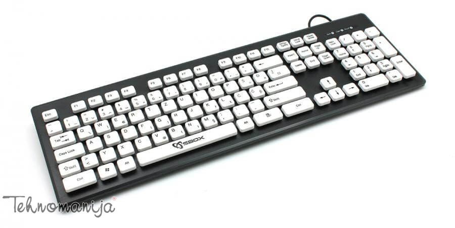S box tastatura K 16 B