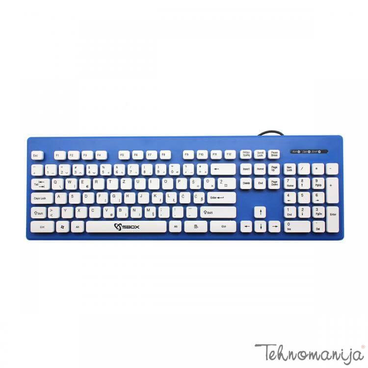 S box tastatura K 16 BL