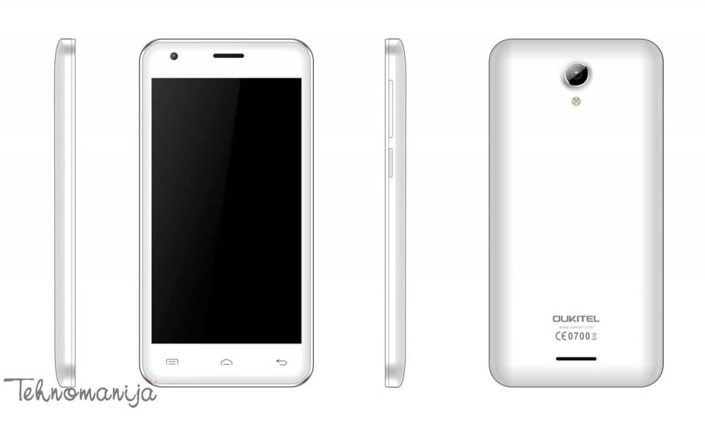 Oukitel telefon mobilni C2 WHITE