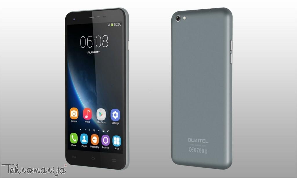 Oukitel telefon mobilni U7 PRO GRAY