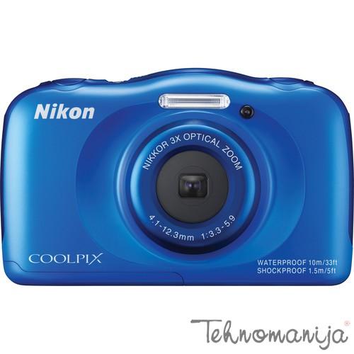 Nikon foto aparat S33 PLAVI