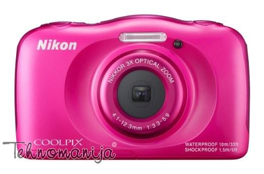 Nikon foto aparat S33 PINK