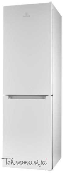 INDESIT Kombinovani frižider LI8 N1 W, No Frost