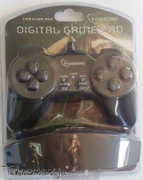 GEMBIRD Gamepad JPD DIG PAD