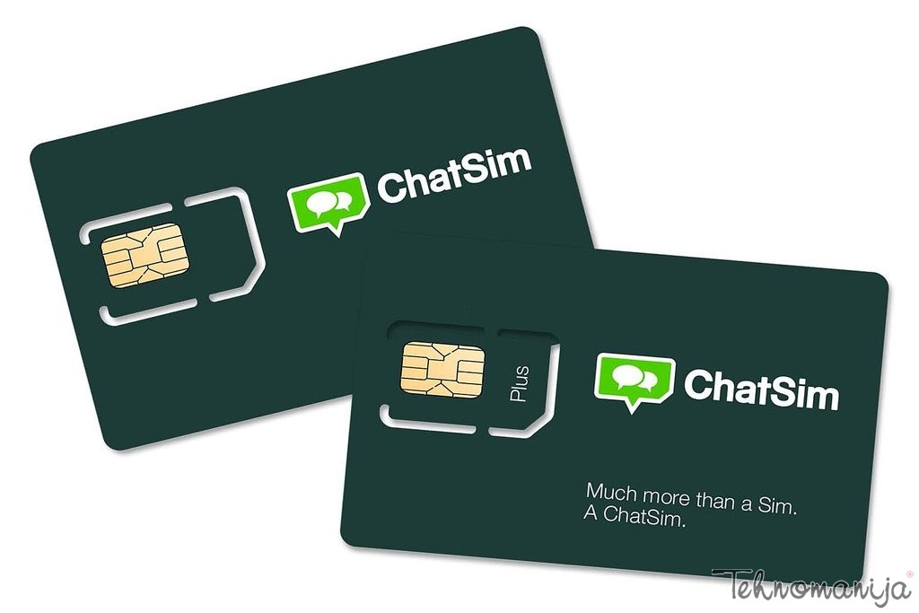 Chat sim kartica CHATSIM+CHATSIM PLUS