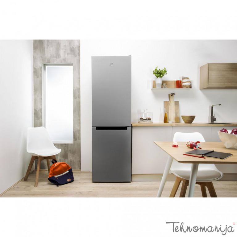 INDESIT Kombinovani frižider LI7 FF2 S B, Samootapanje