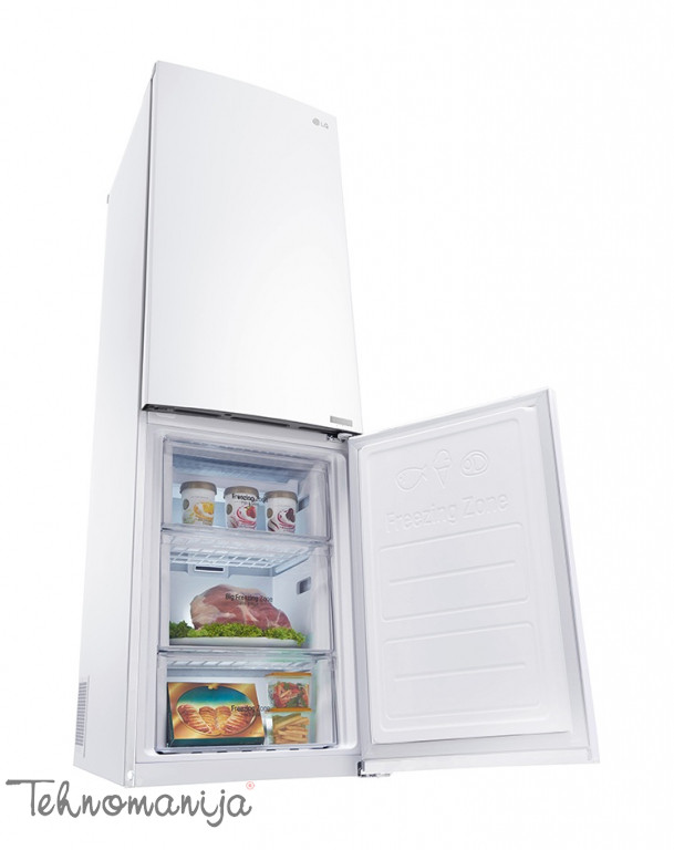 LG Kombinovani frižider GBB 59SWJZS, Total No Frost