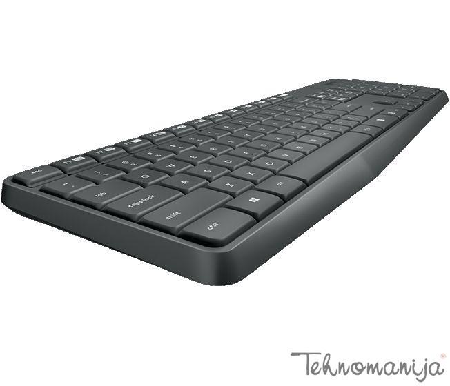 LOGITECH Tastatura MK235 GRAY US