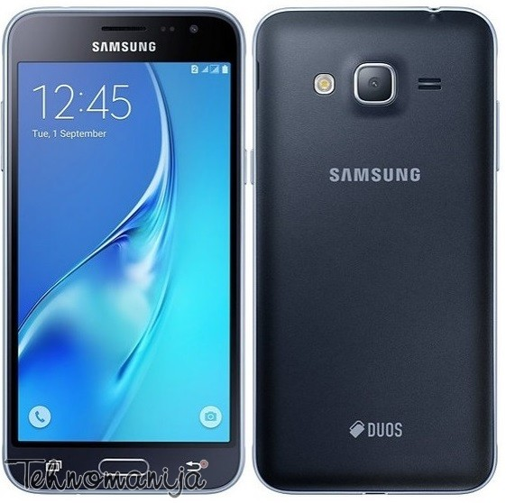 SAMSUNG Galaxy J3 J320 BLACK DS