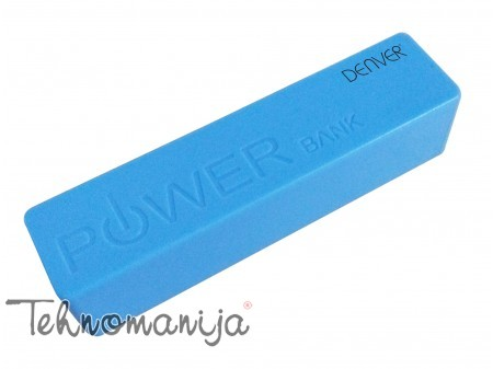 DENVER Power bank PBA 2600 BLUE