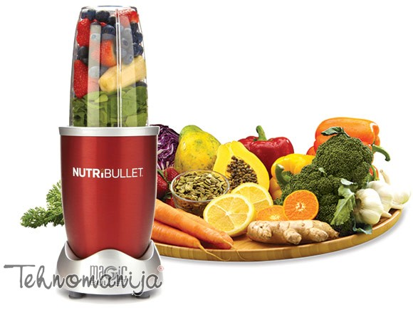 DELIMANO blender NUTRIBULLET RED