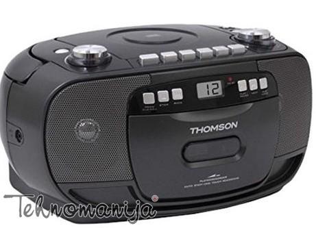 THOMSON Radio kasetofon RK 200 CD CRNI