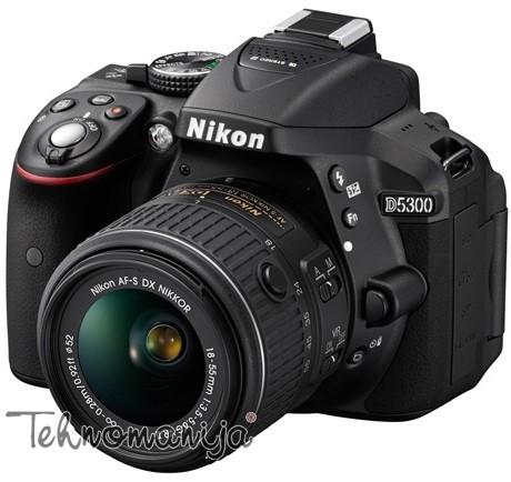 NIKON DSLR Fotoaparat D5300 CRNSET 1855VR