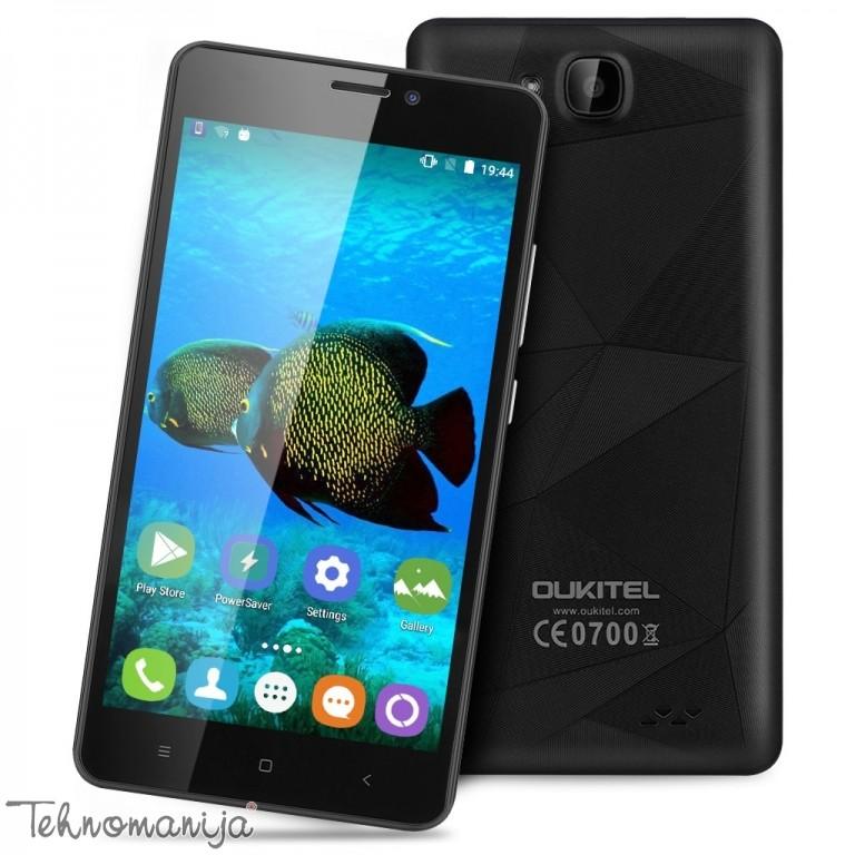 OUKITEL telefon mobilni C3 BLACK, 1 GB, 5 Mpix, Crna
