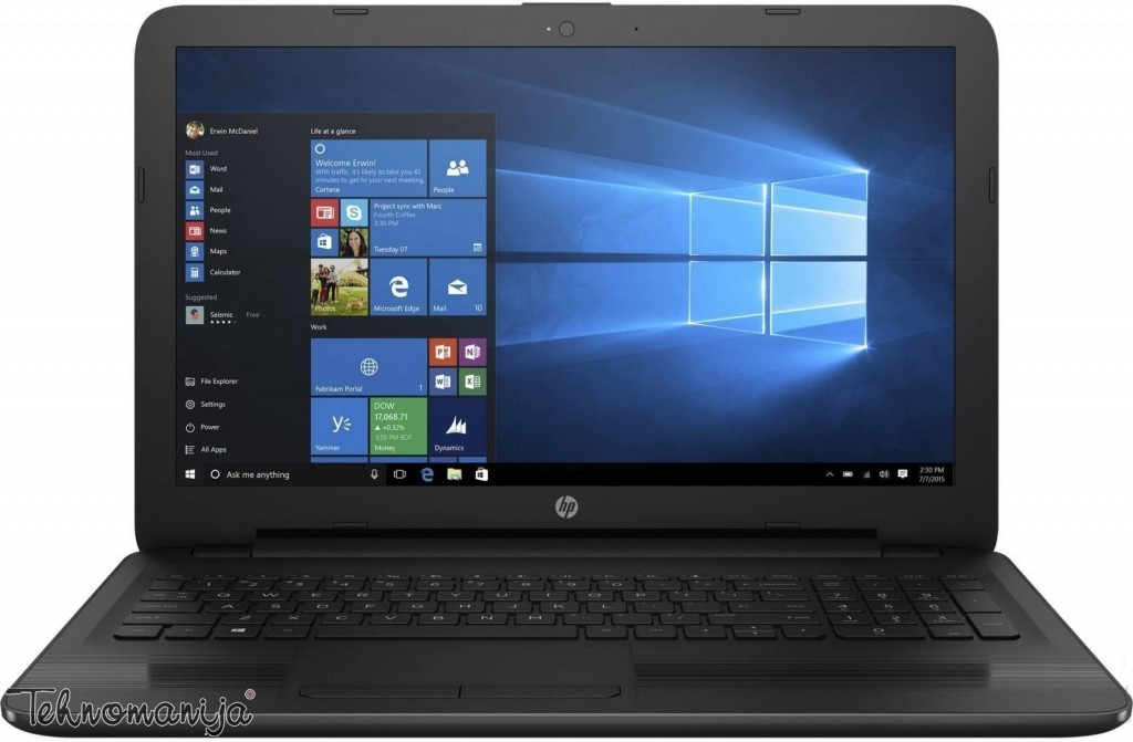 Hp notebook 250 G5 X0P75ES