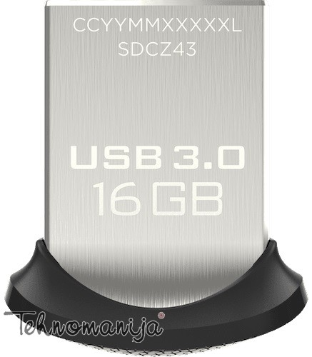 SAN DISK USB flash ULTRA FIT 16GB3.0 FD