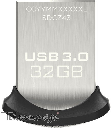 SAN DISK USB flash ULTRA FIT 32GB3.0 FD