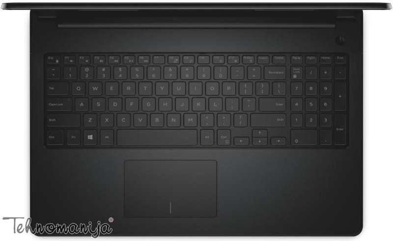 DELL notebook Inspiron 15 (3552), N3060, 4GB, 500GB, NOT10058