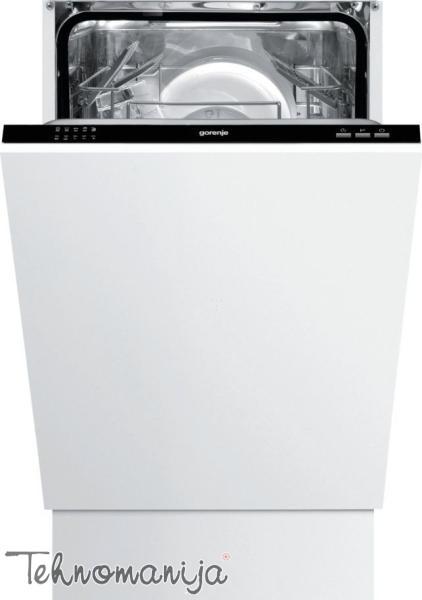 GORENJE Mašina za pranje sudova GV 51010, Ugradna